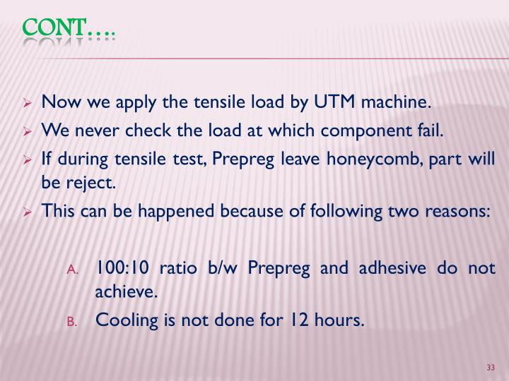 Now we apply the tensile load by UTM machine.