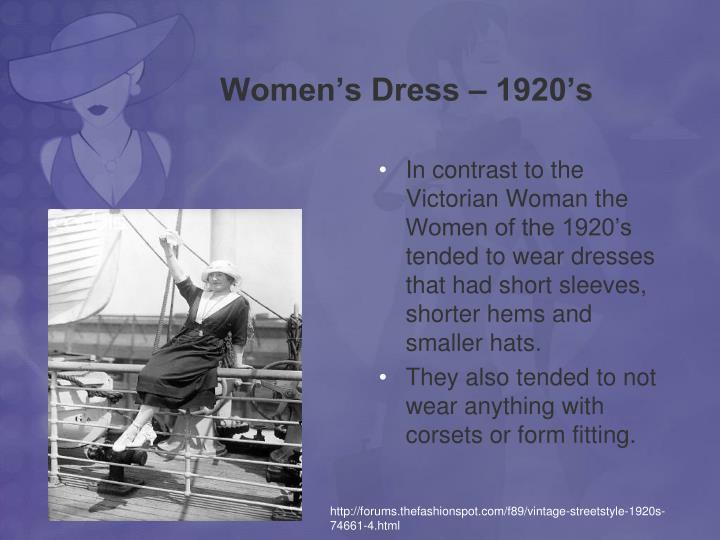 Women s dress 1920 s