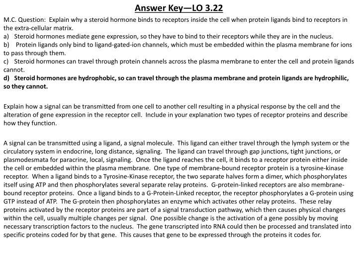Answer Key—LO 3.22