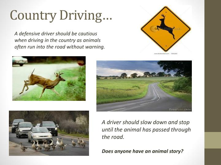 Country Driving…