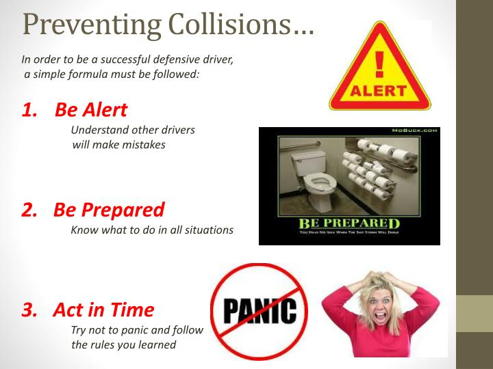 Preventing collisions