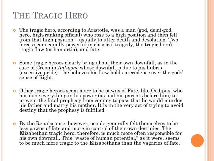 The Tragic Hero
