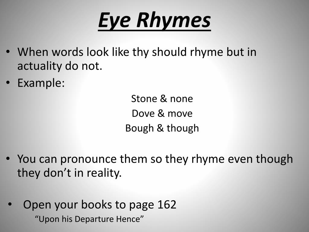 Ppt Rhyme Meter Powerpoint Presentation Free Download Id 2171532