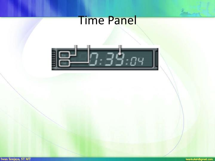 Time Panel
