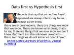 data first vs hypothesis first3