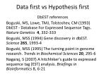 data first vs hypothesis first9