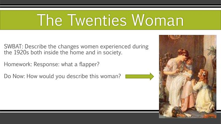 the twenties woman n.
