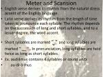 meter and scansion1