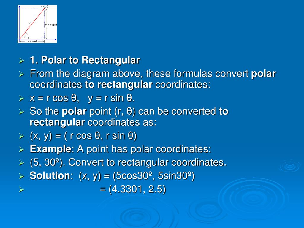PPT - Polar Coordinate System CALCULUS-III PowerPoint