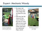 expert mechanic woody