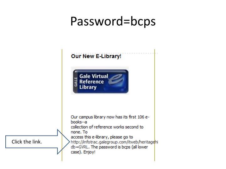 Password=