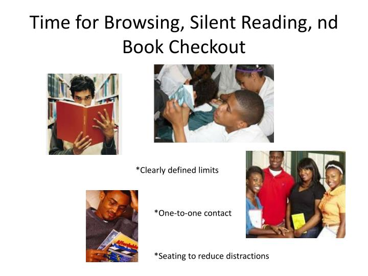 Time for Browsing, Silent Reading,