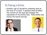 9 faking a smile