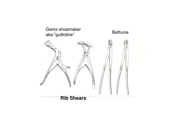 Giertz-shoemaker