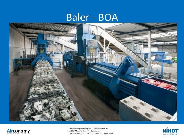 Baler - BOA