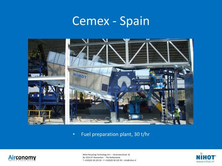 Cemex - Spain