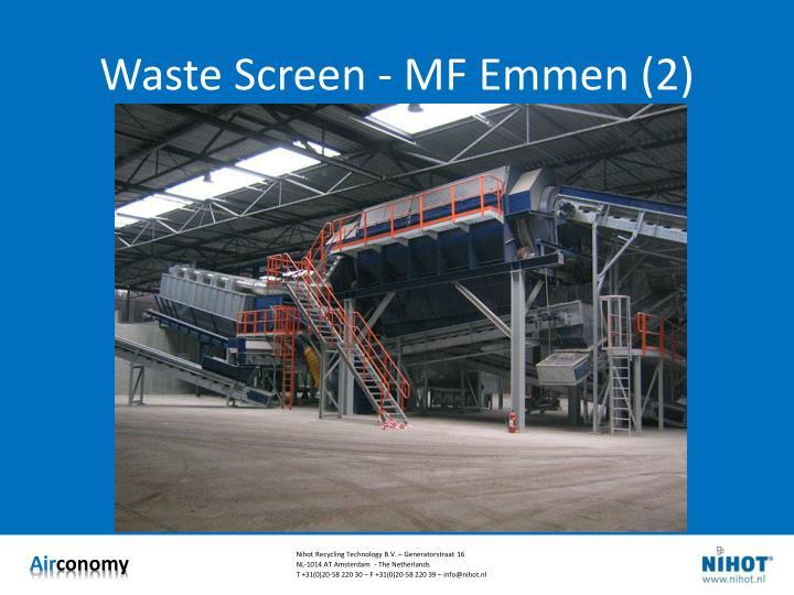 Waste Screen - MF Emmen (2)
