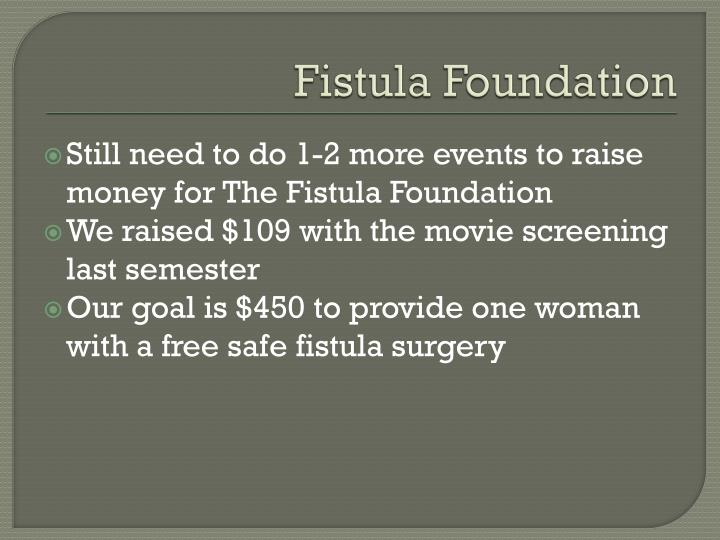Fistula foundation