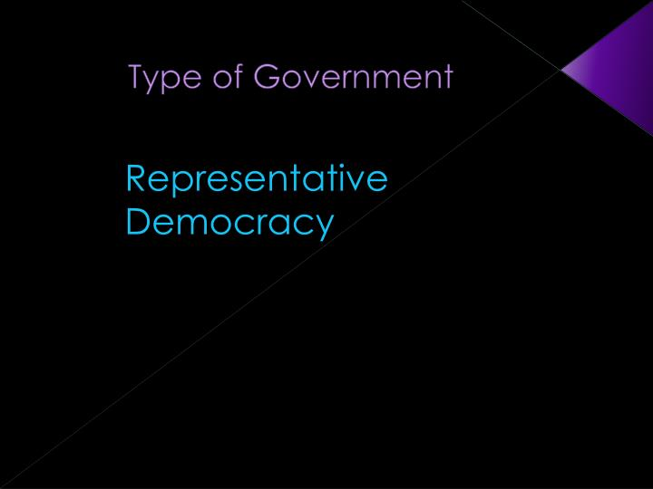 Type of Government