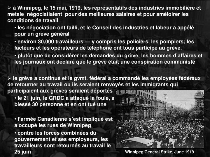Winnipeg General Strike, June 1919