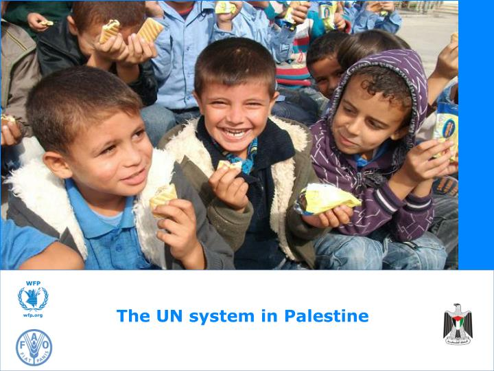 The UN system in Palestine