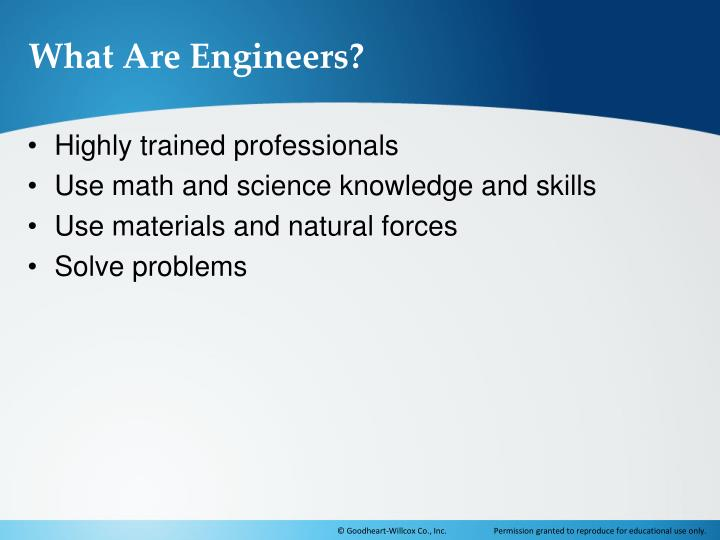 What Are Engineers?