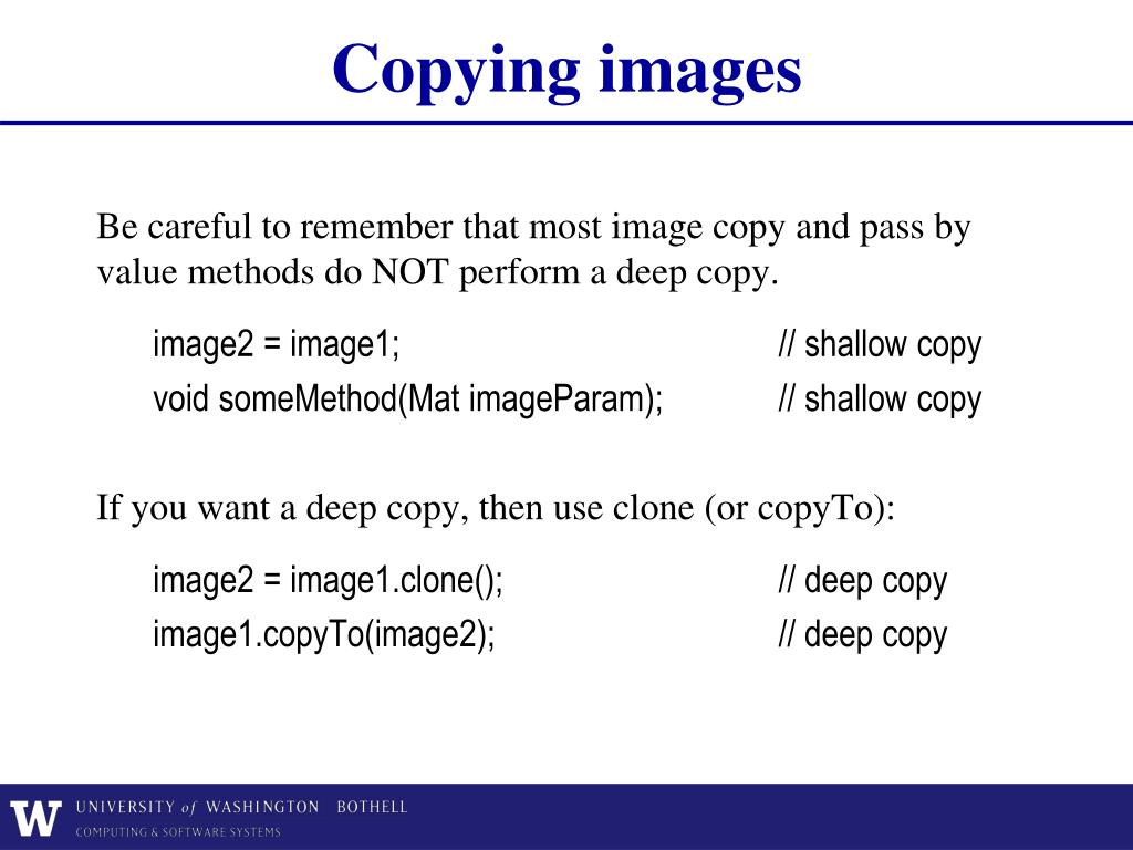 PPT - Lecture 2 Imaging Geometry and OpenCV PowerPoint