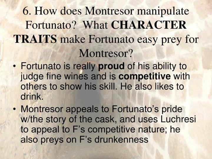 "the poison of pride in the cask of amontillado by edgar allan poe Certain events tell that montresor was leading fortunado to his death  in the other short story ""the cask of amontillado  edgar allan poe,."