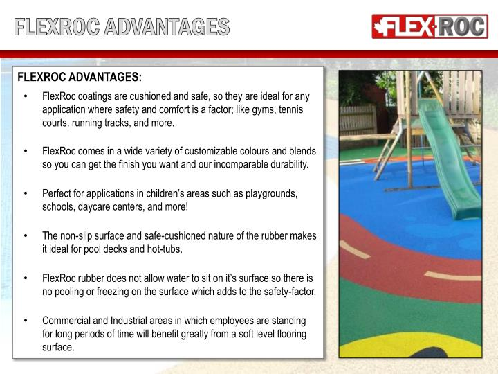 FLEXROC ADVANTAGES