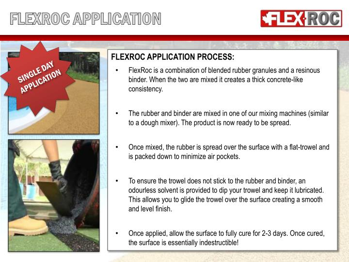 FLEXROC APPLICATION
