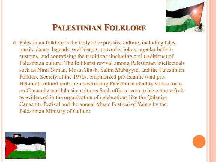 Palestinian Folklore