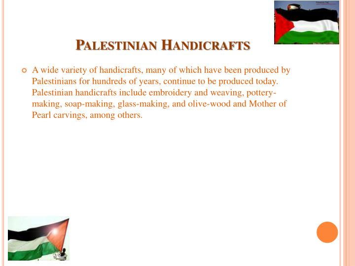Palestinian Handicrafts