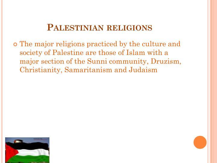 Palestinian religions