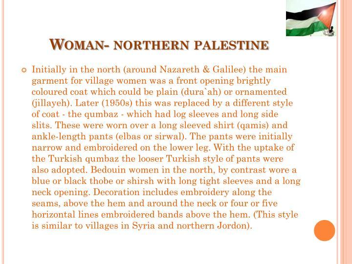 Woman- northern