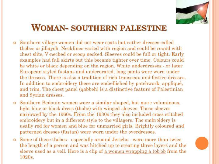 Woman- southern