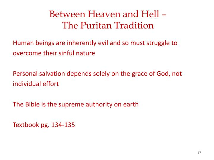 Between Heaven and Hell –