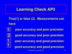 learning check ap31