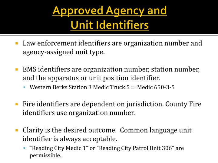 Approved Agency and