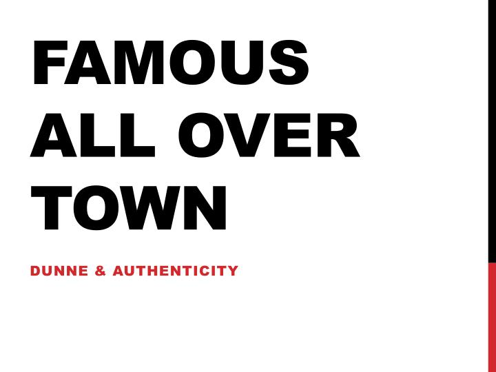 famous all over town by danny santiago In 1984 the american academy and institute of arts and letters awarded one of its distinguished fiction prizes to a new and presumably young chicano writer named danny santiago, for his first novel, famous all over town.