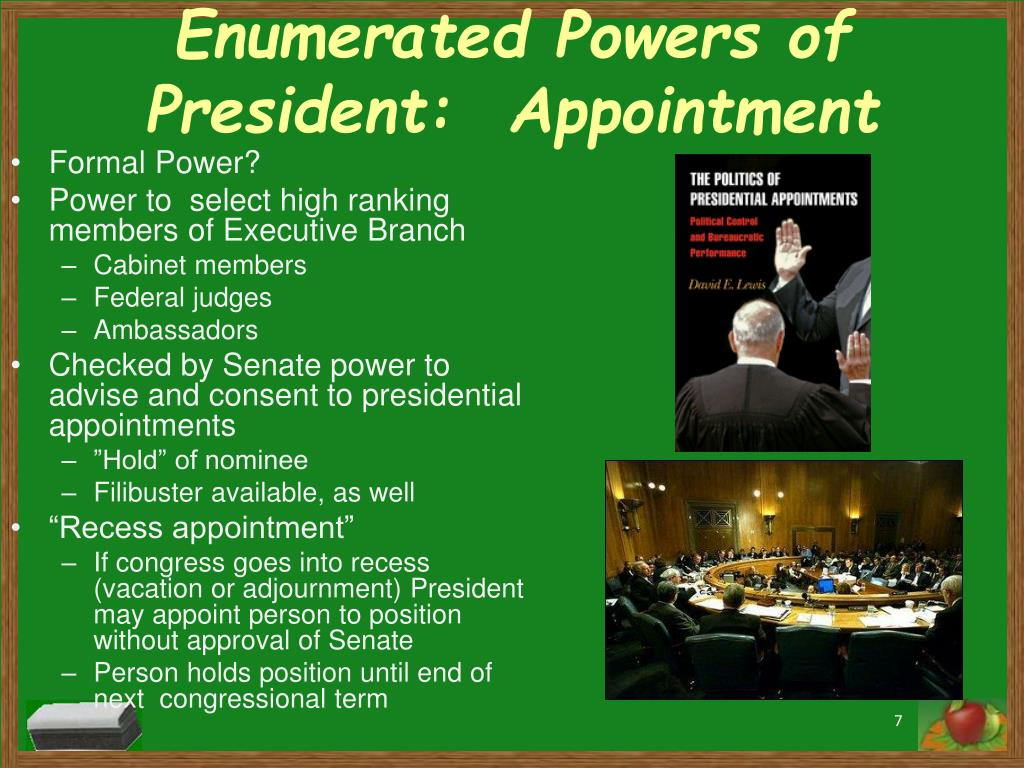 PPT - Overview of the Executive Branch, Qualifications for ...