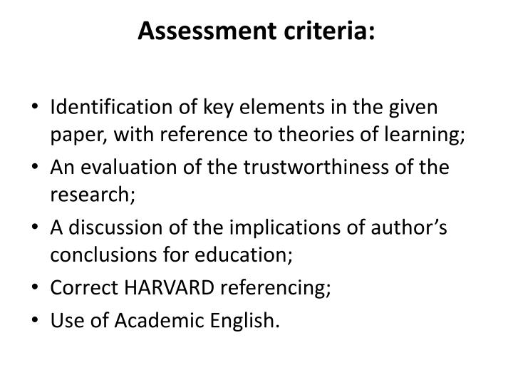identification discussion essay A critical analysis usually includes a summary–a concise restatement of what a text says–and an the essay can pose some difficulties for.