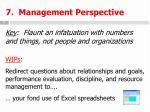 7 management perspective