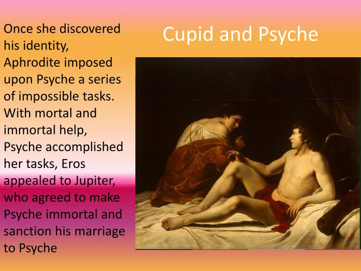 cupid and psyche deconstruction It is important to remember that all writing our goal is to use deconstruction to help enrich our reading of literary texts cupid & psyche.