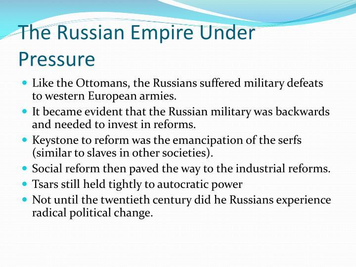The Russian Empire Under Pressure