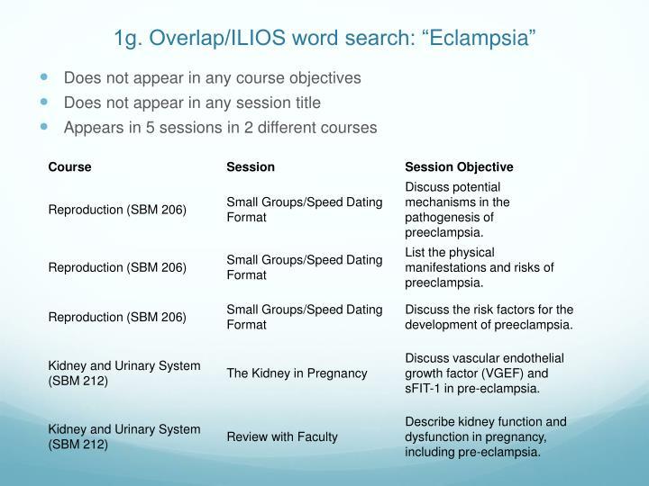 "1g. Overlap/ILIOS word search: """