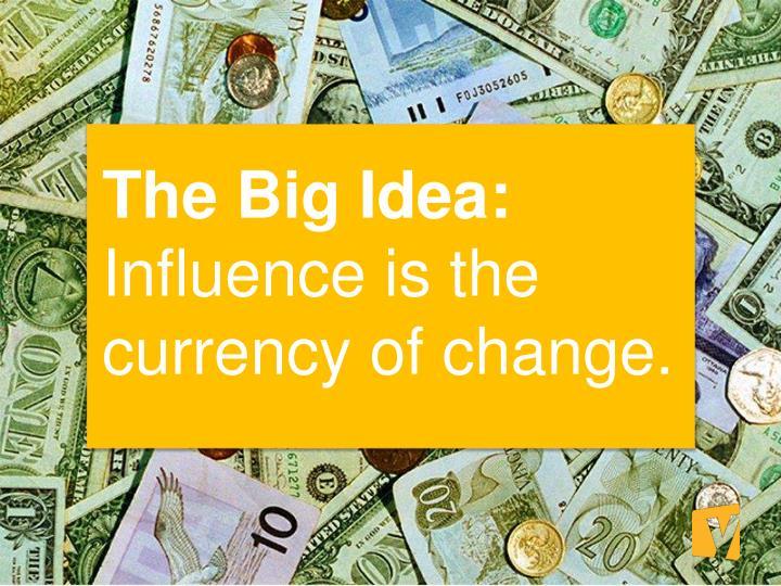 The Big Idea: