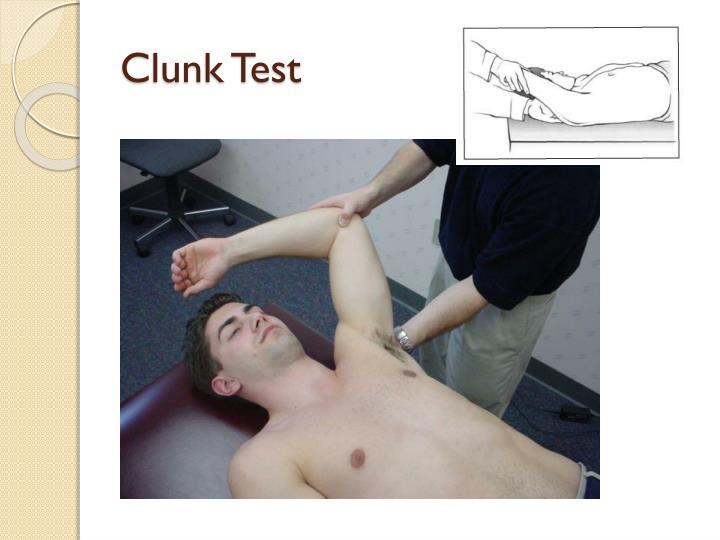 Clunk Test