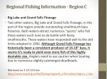 regional fishing information region c