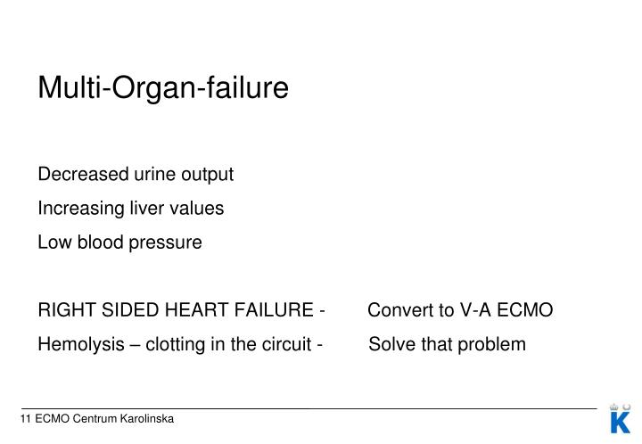 Multi-Organ-failure