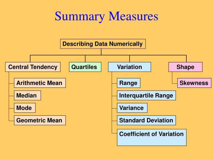Summary Measures
